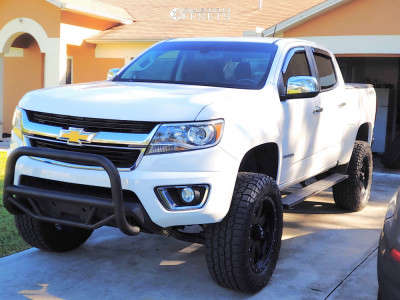 2015 Chevrolet Colorado - 20x9 18mm - Alloy Ion 134 - Stock Suspension - 285/60R20