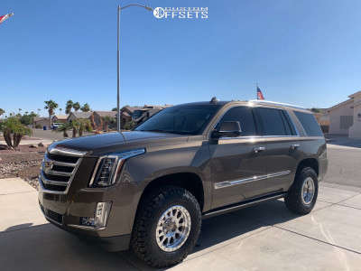 2016 Cadillac Escalade - 17x8.5 0mm - Method Double Standard - Leveling Kit - 285/70R17