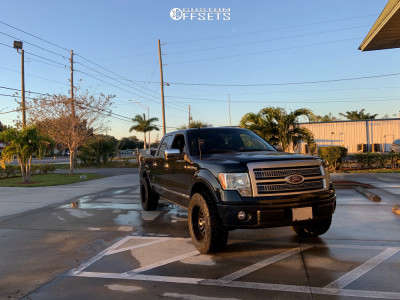 """2010 Ford F-150 - 20x10 -18mm - Fuel Sledge - Leveling Kit - 35"""" x 12.5"""""""