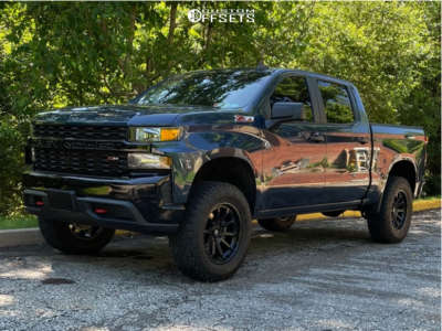 2020 Chevrolet Silverado 1500 - 20x9 1mm - Fuel Torque - Leveling Kit - 295/65R20