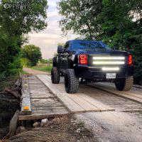 "2012 Chevrolet Silverado 1500 - 20x12 -44mm - Moto Metal MO962 - Suspension Lift 6.5"" - 33"" x 12.5"""