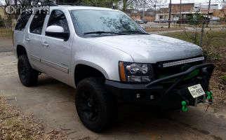 "2010 Chevrolet Tahoe - 17x8 10mm - XD Rockstar II - Suspension Lift 3.5"" - 285/70R17"