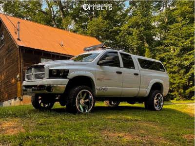 "2006 Dodge Ram 2500 - 22x12 -51mm - ARKON OFF-ROAD Lincoln - Leveling Kit - 33"" x 12.5"""