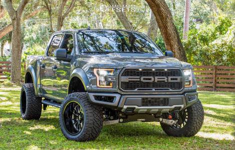 "2020 Ford Raptor - 22x12 -51mm - Cali Offroad Summit - Suspension Lift 4"" - 305/50R22"