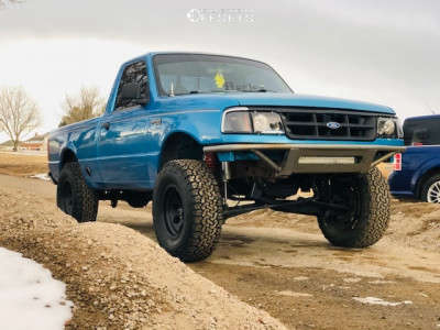 "1994 Ford Ranger - 15x8 -19mm - Pro Comp Series 69 - Suspension Lift 5"" - 31"" x 10.5"""