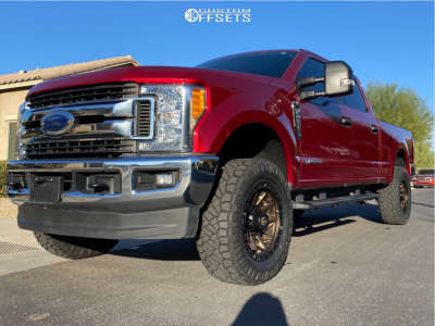 """2017 Ford E-250 Super Duty - 20x9 1mm - Fuel Covert - Leveling Kit - 35"""" x 12.5"""""""