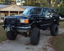 "1990 Ford Bronco - 15x10 -44mm - Pro Comp Series 51 - Suspension Lift 6"" & Body 3"" - 38"" x 14.5"""
