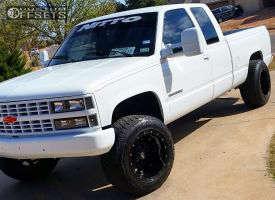 "1991 Chevrolet C1500 - 18x12 -44mm - Fuel Hostage - Suspension Lift 4"" - 275/65R18"