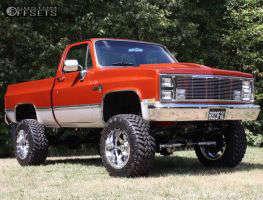 """1986 Chevrolet K10 - 20x12 -44mm - Fuel Maverick D536 - Suspension Lift 6"""" - 35"""" x 12.5"""""""