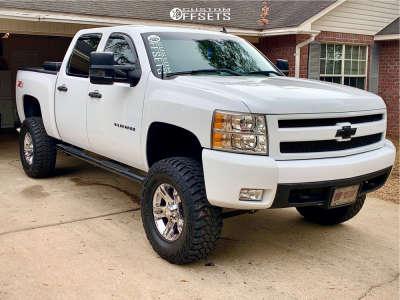 "2008 Chevrolet Silverado 1500 - 17x8 10mm - Ultra Maverick - Suspension Lift 7.5"" - 35"" x 12.5"""