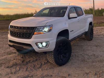 """2020 Chevrolet Colorado - 20x9 0mm - XD XD852 Gauntlet - Suspension Lift 4"""" - 33"""" x 12.5"""""""