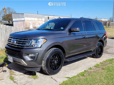 2020 Ford Expedition - 20x9 18mm - Motiv Offroad Magnus - Stock Suspension - 275/60R20