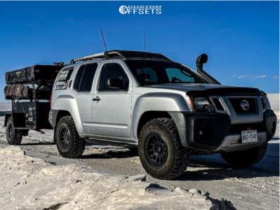 "2009 Nissan Xterra - 16x8 20mm - Fuel Vector - Leveling Kit - 33"" x 11.5"""