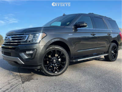 2021 Ford Expedition - 22x10 10mm - Fuel Vapor - Stock Suspension - 285/45R22