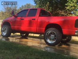 """2006 Dodge Ram 2500 - 22x12 -40mm - American Force BLADE SS - Leveling Kit - 35"""" x 12.5"""""""