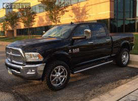 "2014 Ram 2500 - 22x9.5 25mm - Fuel Maverick - Stock Suspension - 35"" x 12.5"""