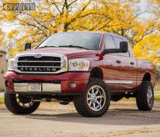 "2006 Dodge Ram 2500 - 20x10 -24mm - Fuel Maverick - Suspension Lift 3"" - 35"" x 12.5"""