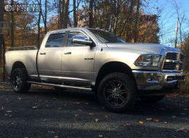 2013 Ram 2500 - 20x9 18mm - Gear Off-Road Challenger - Leveling Kit - 295/60R20