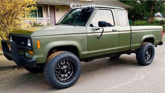 "1988 Ford Ranger - 18x9 0mm - Fuel Crush - Body Lift 3"" - 31"" x 10.5"""