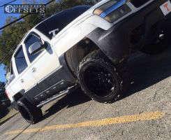 "2003 Chevrolet Avalanche - 20x12 -44mm - Black Rhino Glamis - Leveling Kit - 33"" x 12.5"""