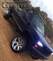"1996 Chevrolet K1500 - 22x14 -76mm - Hostile Switch Blade - Suspension Lift 6"" - 305/45R22"