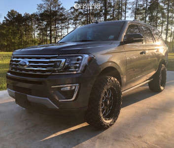 """2020 Ford Expedition - 20x9 0mm - XD XD820 - Suspension Lift 3"""" - 33"""" x 12.5"""""""