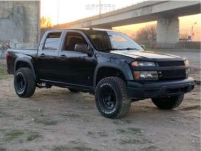 """2008 Chevrolet Colorado - 15x6 0mm - American Racing Ar23 - Stock Suspension - 31"""" x 7.5"""""""