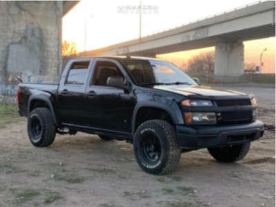 """2008 Chevrolet Colorado - 15x5.5 6.35mm - American Racing 114 - Suspension Lift 2.5"""" - 31"""" x 7.5"""""""