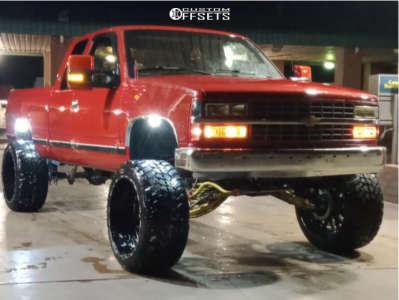 "1990 Chevrolet C1500 - 24x14 -76mm - TIS 544bm - Suspension Lift 9.5"" - 35"" x 13.5"""