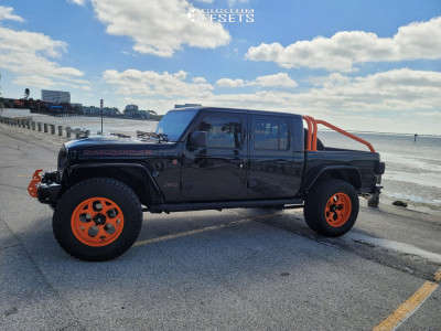 """2021 Jeep Gladiator - 20x10 -24mm - KG1 Forged Knox - Stock Suspension - 37"""" x 13.5"""""""
