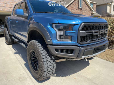 "2020 Ford Raptor - 20x10 -18mm - Fuel Rebel - Suspension Lift 4.5"" - 38"" x 13.5"""