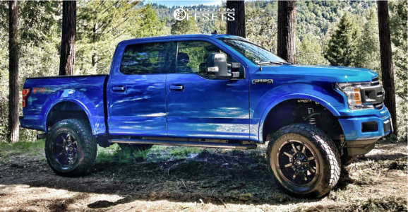 """2020 Ford F-150 - 20x10 -18mm - Fuel Coupler - Suspension Lift 6"""" - 35"""" x 12.5"""""""