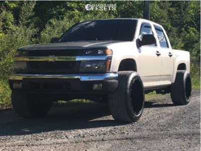 "2005 Chevrolet Colorado - 20x12 -54mm - Vision Rocker - Leveling Kit - 30"" x 10.5"""
