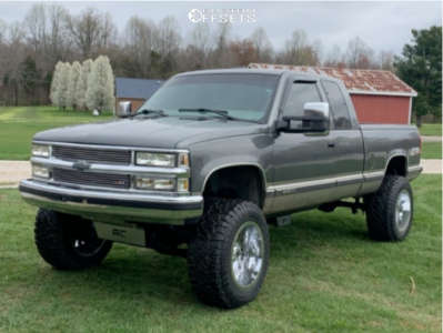 "1999 Chevrolet K1500 - 20x12 -44mm - RBP 75r - Suspension Lift 6"" - 35"" x 12.5"""