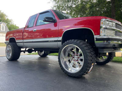 "1998 Chevrolet K1500 - 24x14 -76mm - Black Rhino Blaster - Suspension Lift 6"" - 35"" x 13.5"""