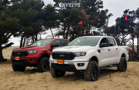 "2021 Ford Ranger - 18x9 -12mm - Vision Arc - Suspension Lift 3.5"" - 285/65R18"