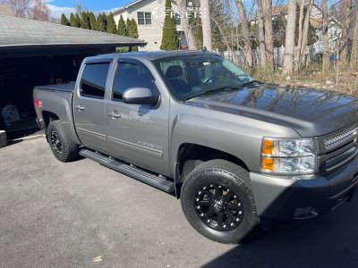 "2013 Chevrolet Silverado 1500 - 18x10 -24mm - XD Addict - Leveling Kit - 33"" x 12.5"""