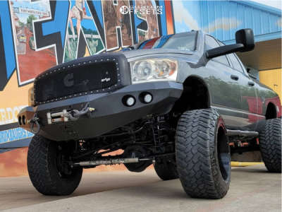 "2009 Dodge Ram 2500 - 22x14 -44mm - Hostile Alpha - Suspension Lift 8"" - 38"" x 13.5"""
