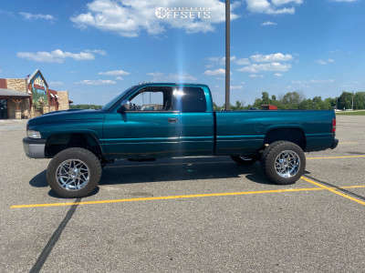 "1997 Dodge Ram 2500 - 20x12 -44mm - Gear Off-Road Ratio - Suspension Lift 2.5"" - 35"" x 12.5"""