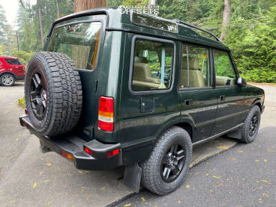1997 Land Rover Discovery - 17x8.5 10mm - Black Rhino Ravine - Stock Suspension - 265/65R17