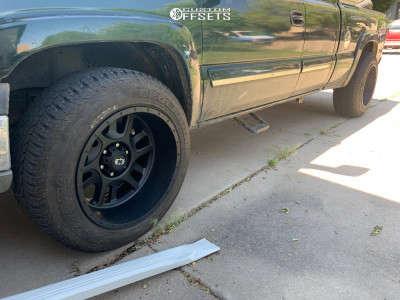 "2004 Chevrolet Silverado 1500 - 20x12 -51mm - Vision Split - Stock Suspension - 25"" x 11.5"""