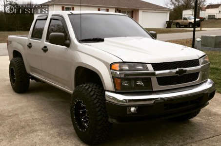 """2006 Chevrolet Colorado - 15x10 -43mm - Fuel Lethal - Leveling Kit - 31"""" x 10.5"""""""