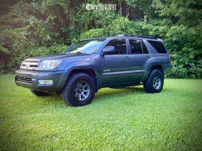 2005 Toyota 4Runner - 17x8.5 0mm - Icon Rebound - Stock Suspension - 265/65R17