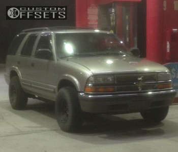 2001 Chevrolet Blazer - 15x8 -12mm - Bart D Window - Stock Suspension - 235/75R15