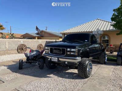 "1998 GMC K1500 - 20x14 -180mm - Fuel Maverick - Suspension Lift 6"" & Body 3"" - 33"" x 12.5"""