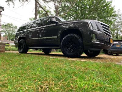 "2015 Cadillac Escalade ESV - 17x9 0mm - Motiv Offroad Millenium - Suspension Lift 2.5"" - 285/70R17"