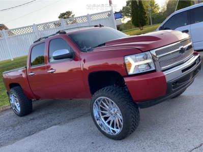 "2013 Chevrolet Silverado 1500 - 24x12 -42mm - TIS 547c - Suspension Lift 7.5"" - 35"" x 12.5"""