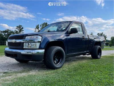 "2008 Chevrolet Colorado - 15x10 -38mm - Bart Super Trucker - Stock Suspension - 26"" x 11.5"""