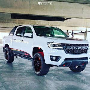 "2015 Chevrolet Colorado - 20x10 -18mm - XD Mammoth - Leveling Kit - 32"" x 10.5"""