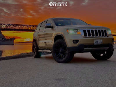 2011 Jeep Grand Cherokee - 20x10 -19mm - Fuel Vapor - Lifted - 285/55R20